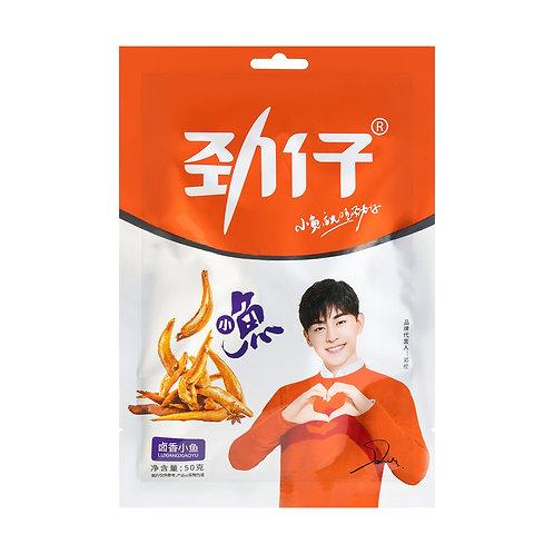 劲仔深海小鱼 (卤香味)