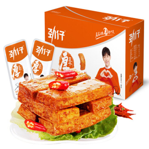 劲仔厚豆干(香辣) 