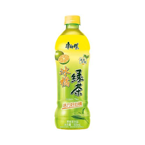 康师傅冰橘绿茶