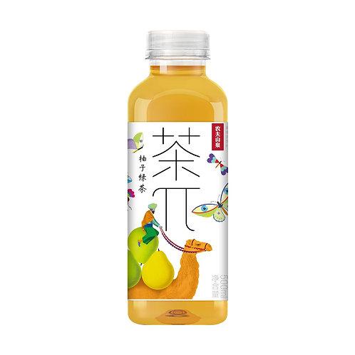 农夫茶Π柚子绿茶