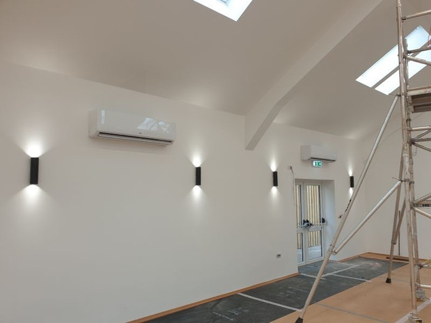 Commercial Air Conditioning Installations For Workspaces And Offices