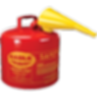eagle 5 gallon gas can with funnel