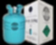 R134A refrigerant cylinder