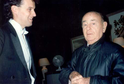 With Shura Cherkassky (1994)
