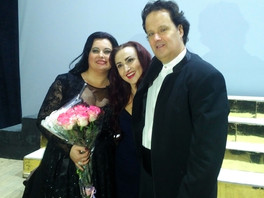 "Premiere of Bellini's ""Norma"" with Lyudmila Monastryska"