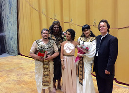 """Aida"" at the Minsk Opera, Belarus"