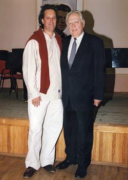 With Saulius Soneckis