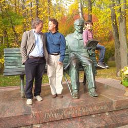 With Boris Berezovsky