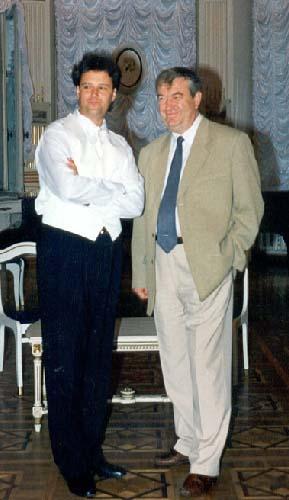 With Ruslan Bodelan