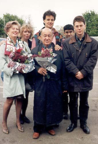With Shura Cherkassky in Odessa
