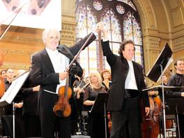 Alban Berg's violin concerto with Rainer Honeck