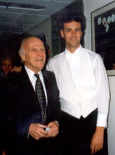 With Yehudi Menuhin (1994)