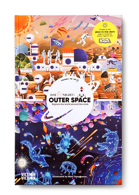Day and Night Outer Space