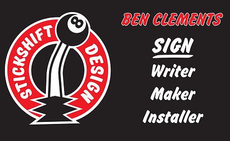 Stickshiftdesign Perth Sign writer
