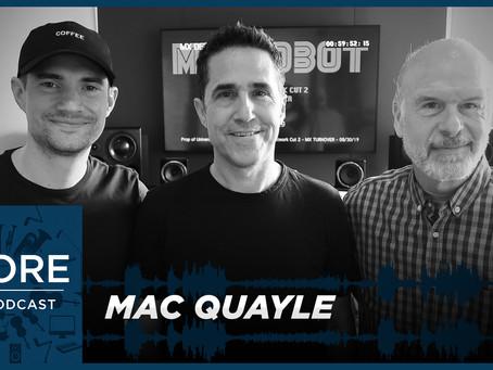 Season 2 Episode 19 | Mac Quayle says Mr. Robot spoke to him