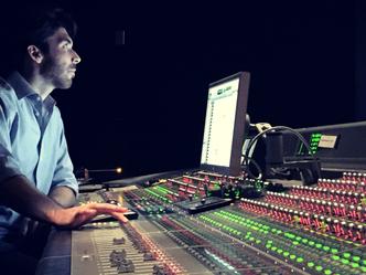 Sound designer raises the bar in SCORE