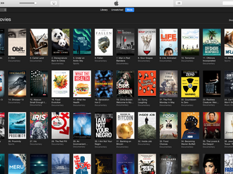 SCORE #1 documentary for second consecutive week on iTunes and Amazon