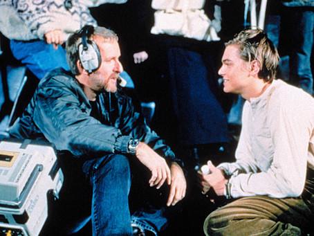 """Leonardo DiCaprio Originally Thought James Cameron's Titanic Screen Test Was """"A Bit Light"""" For Him"""