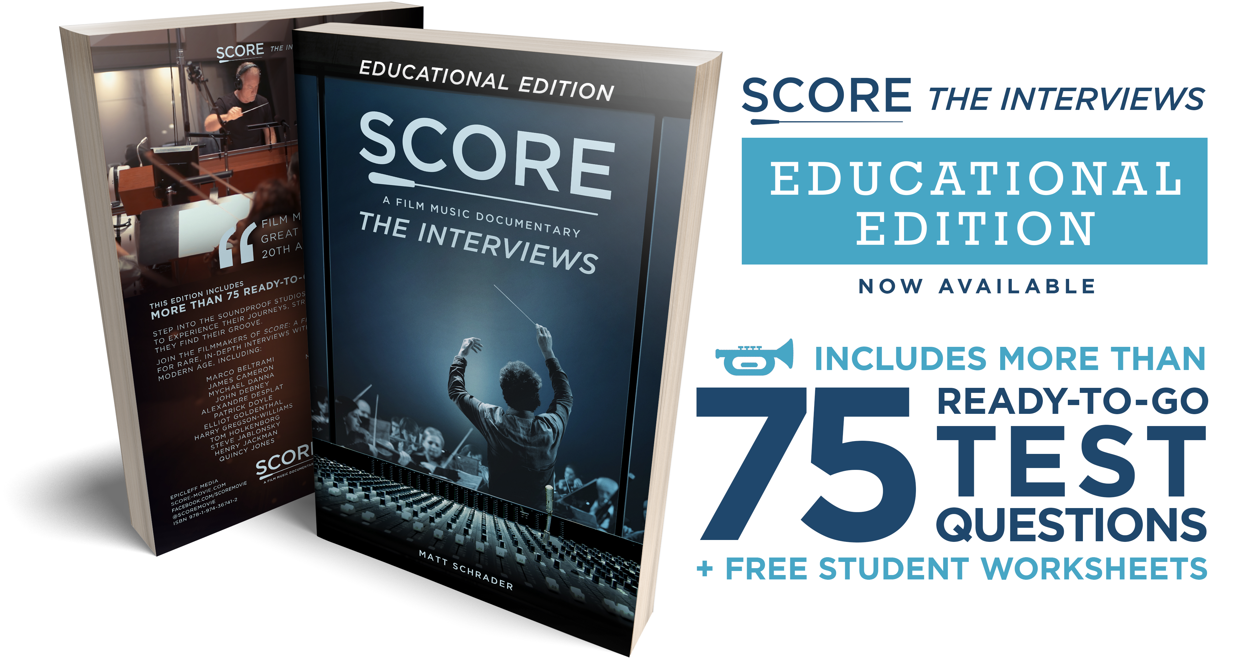 SCORE Educational Edition Available Now | SCORE: A FILM MUSIC ...