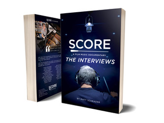 """""""SCORE: The Interviews"""" (Paperback & Kindle) Now Available for Pre-Order"""