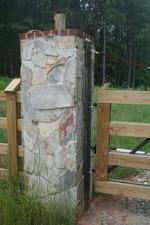 Stone Pillar for Entrance Gate