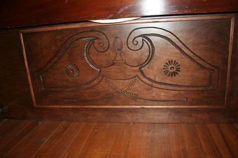 Bed Footboard Detail
