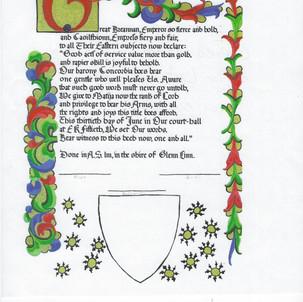 Award of Arms 14