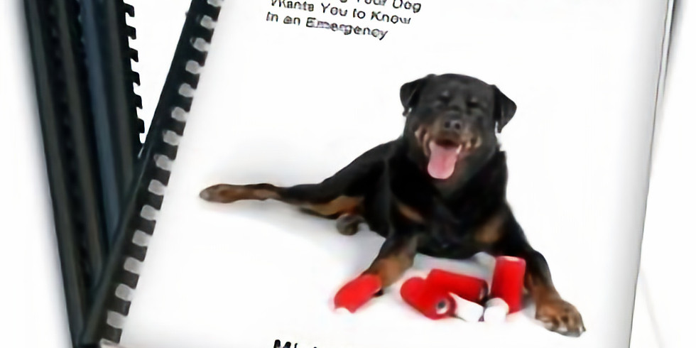Dogsafe Pet CPR and First Aid