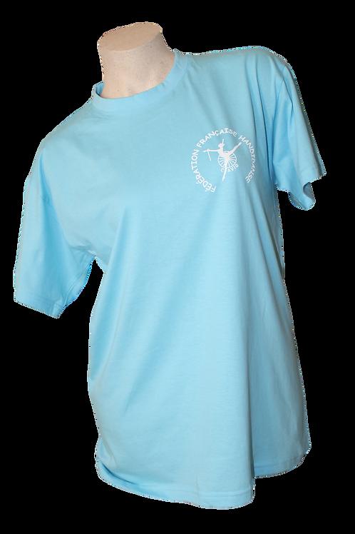 Tee shirt Cyan