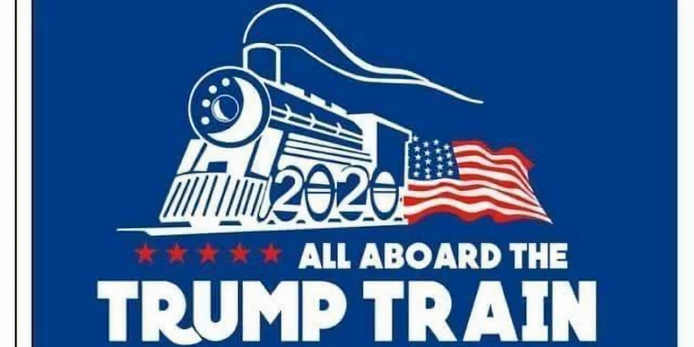 Trump Boat Parade - Lake Ada