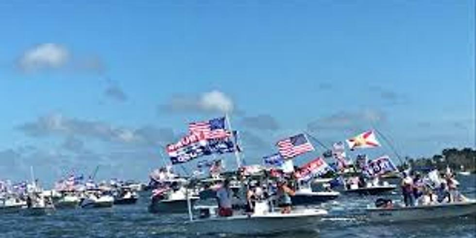Trump Boating Day on Lake Minnetonka!