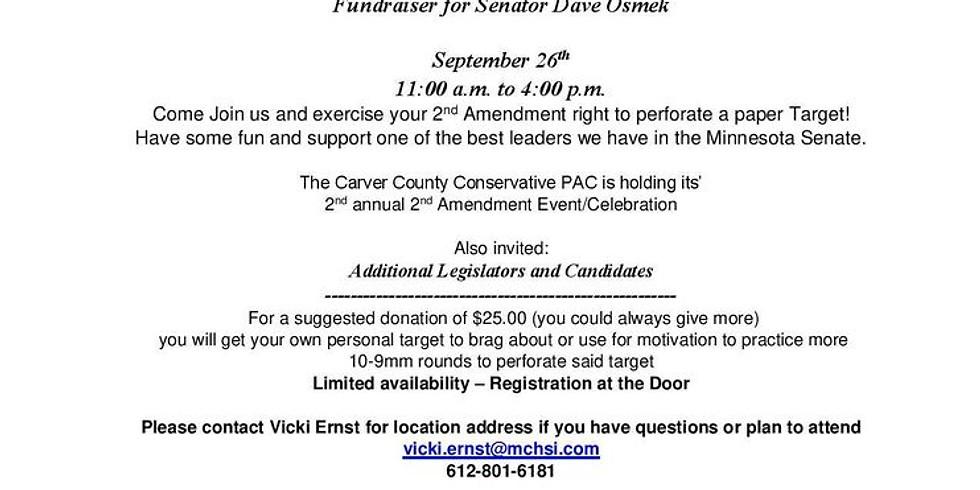 2nd Amendment Event to support Sen. Osmek