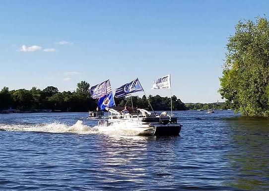 Trump/Patriotic Boat Parade Labor Day Weekend!