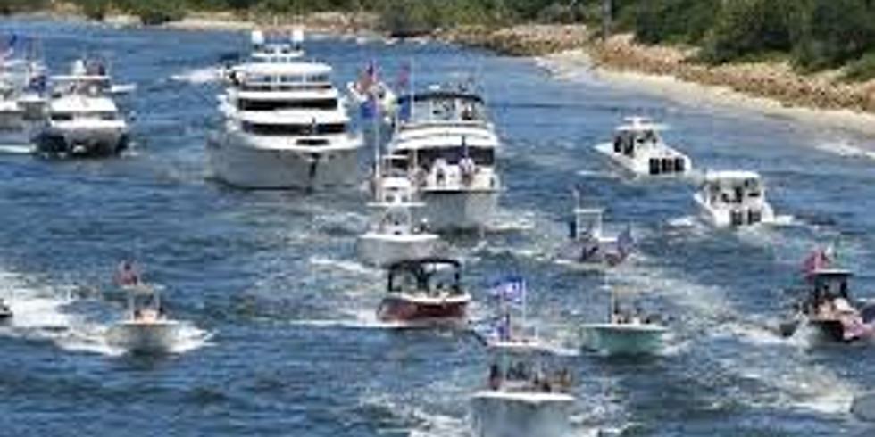 Trump Boat Parade - Wabasha