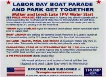 Patriotic Boat Parade