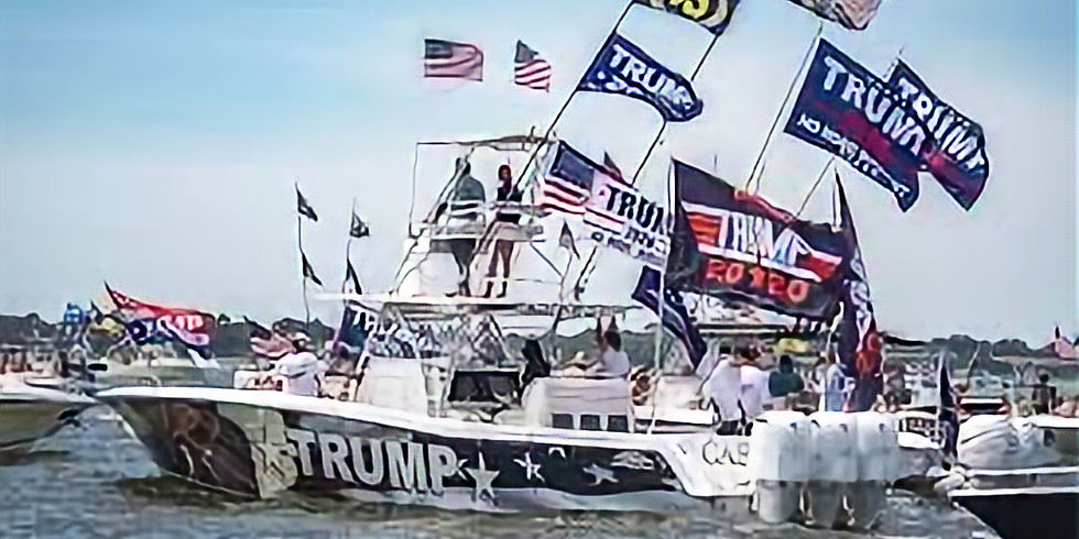 Trump Boat Parade - Lake Pokegama