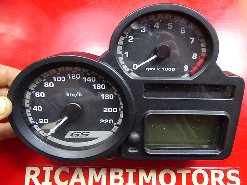 STRUMENTAZIONE BMW R1200GS