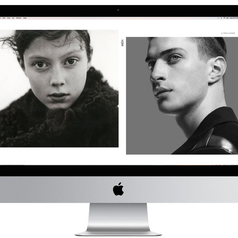New Elite Model Management Website