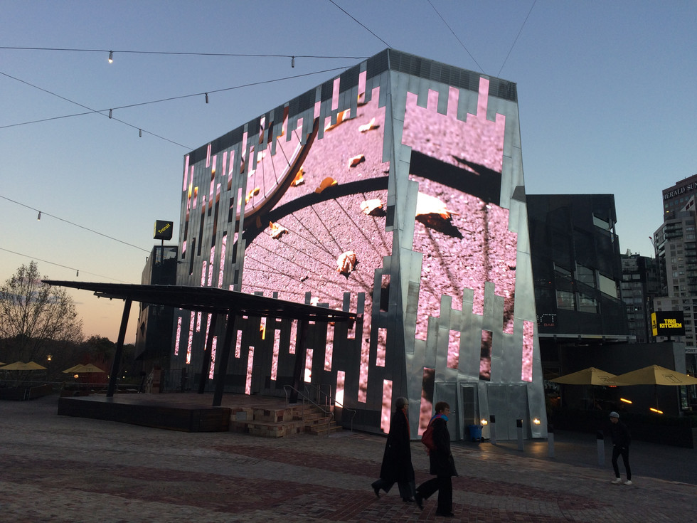 Federation Square: Digital Facade launch films