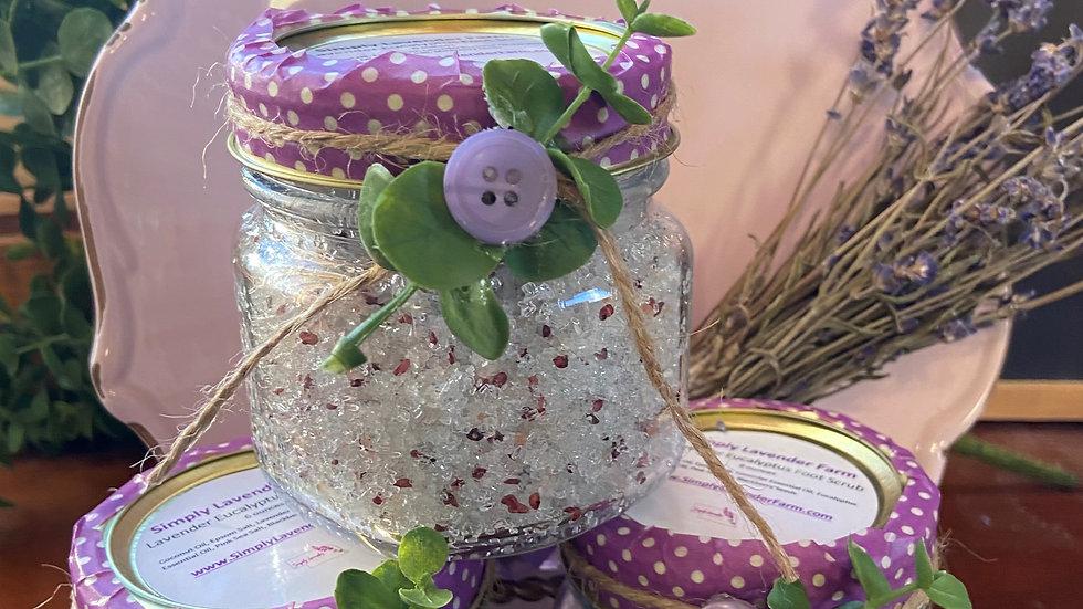 Lavender Eucalyptus Foot Scrub