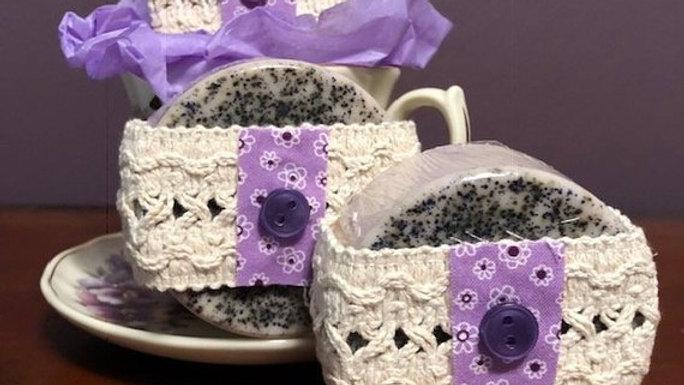 Lavender Coffee Goat's Milk Soap - 3.6 oz.