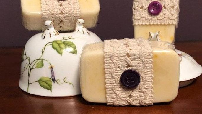 Lavender Cashmere Goat's Milk Soap - 3.6 oz.