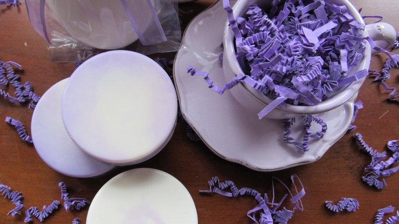 Lavender Almond Swirl Soap-3.5 ounces