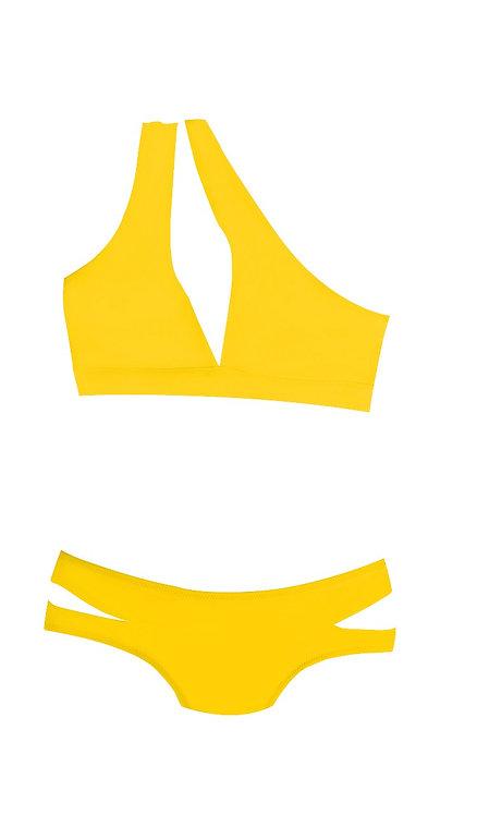 Flyaway One Shoulder Bikini