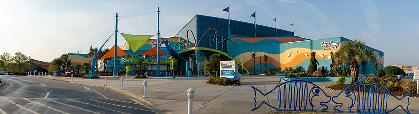 Ripleys Aquarium at Broadway at the Beach in Myrtle Beach, South Carolina. Great place to see some sharks.