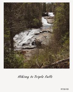 Triple Falls - Dupont State Park, NC