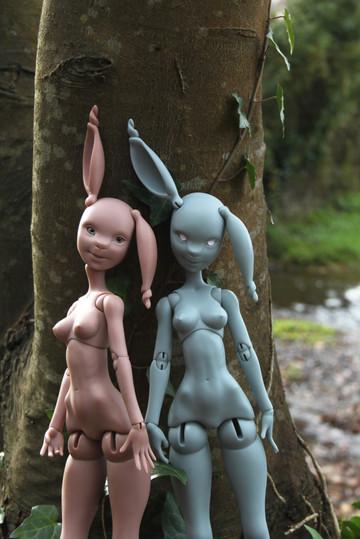 BJD rabbit Pam