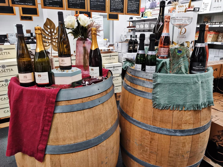 Cremant d'Alsace und Champagner