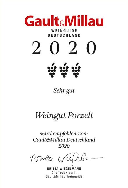 Gault&Millau Weinguide Deutschland 2020_