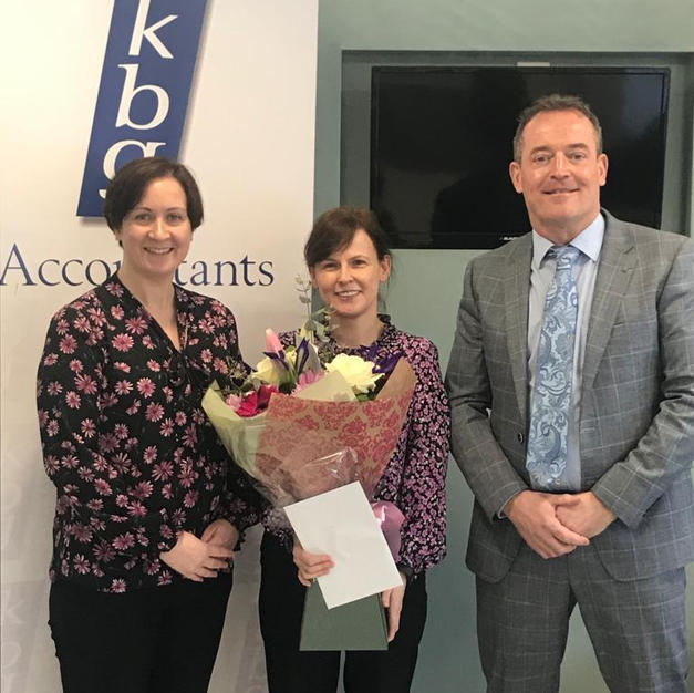 Congratulations to Diane on 25 years working in KBG.